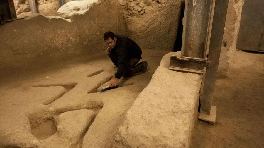 Imagen de archivo de una excavación arqueológica cerca de Jerusalén.