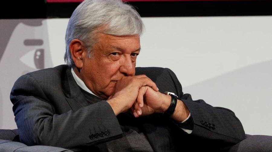 El presidente electo de México, Andrés Manuel López Obrador, la semana pasada en una reunión en la Ciudad de México.