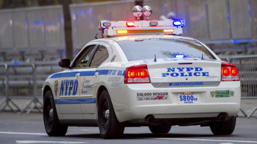 Imagen de archivo de un carro de la policía de Nueva York.