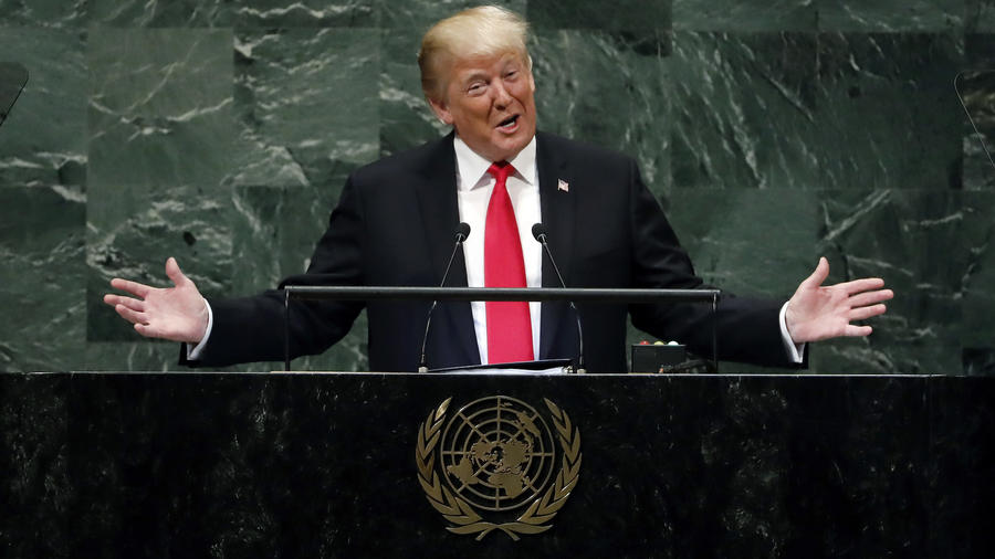 Donald TrumpTrump, en su discurso ante la Asamblea General de la ONU el pasado 25 de septiembre.