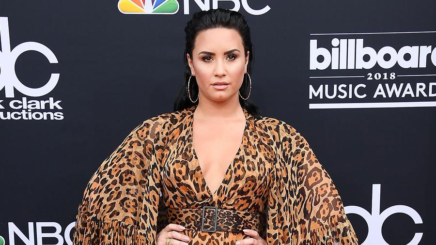 Demi Lovato at the Billboard Music Award
