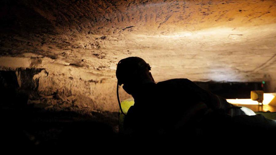 Imagen de archivo de una mina.