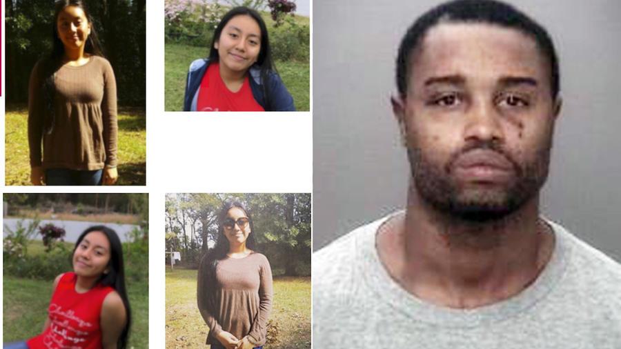 Imágenes de Hania Aguilar usadas para su búsqueda. A la derecha, Ray McLellan.