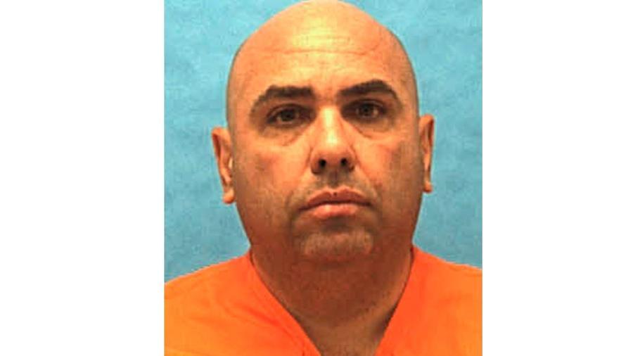 El ejecutado José Antonio Jiménez condenado a muerte por asesinar a una mujer en el condado de Miami-Dade hace 26 años.