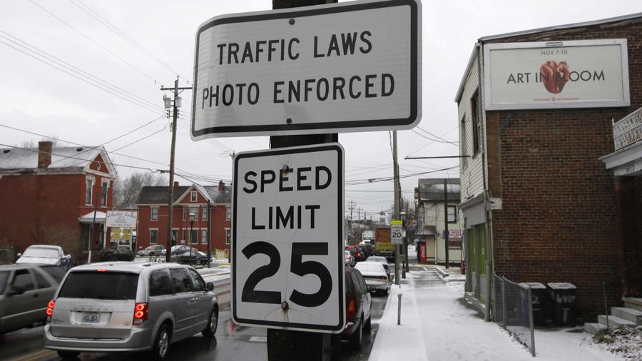 Cartel límite de velocidad