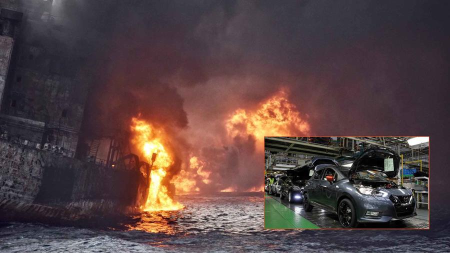La Guardia Costera rescató a 16 miembros de la tripulación, pero se cree que hay fatalidades.