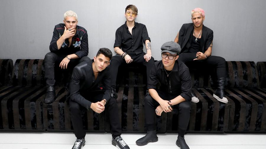 CNCO attends Billboard 2018 Latin Power Players.