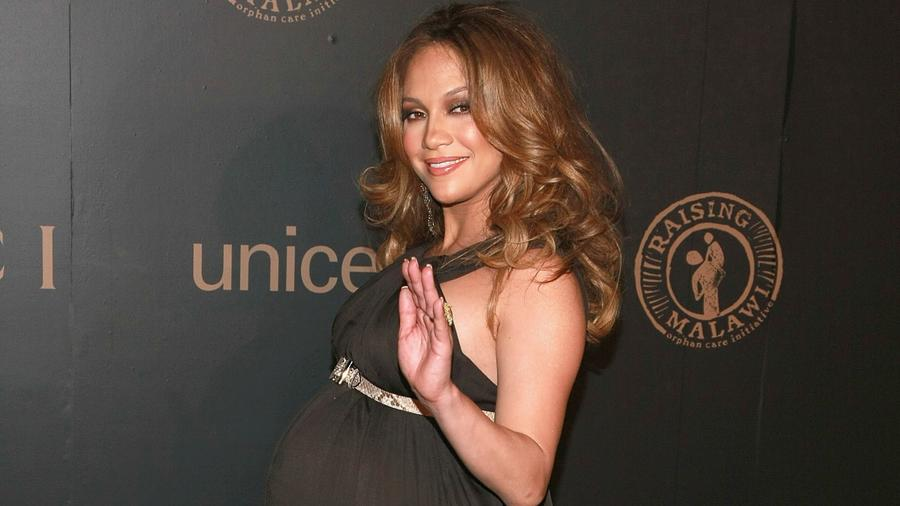 Jennifer Lopez at a UNICEF event