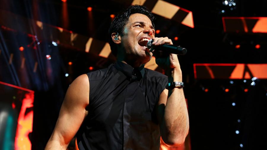 Chayanne performs at Verizon Theater.