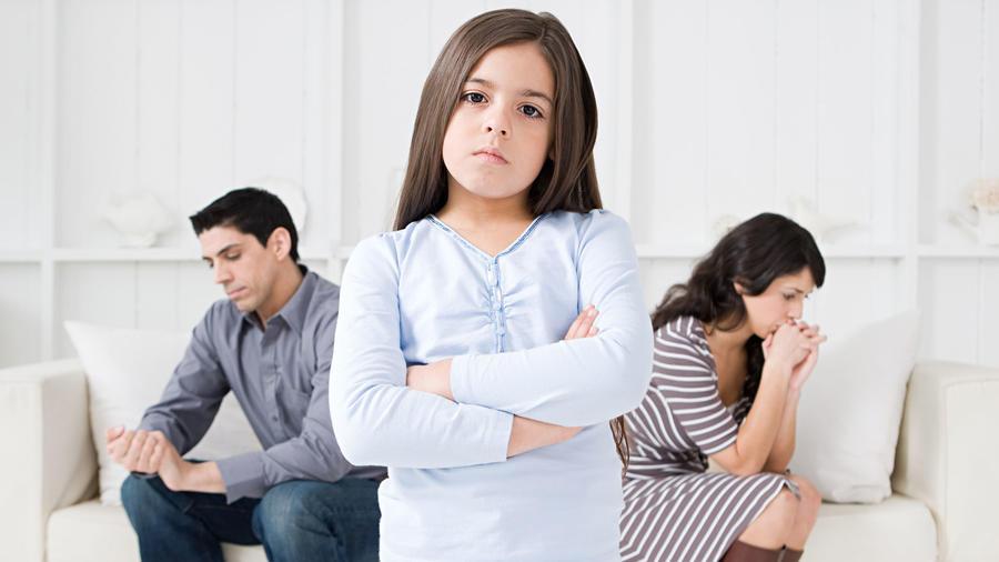 Niños en el divorcio