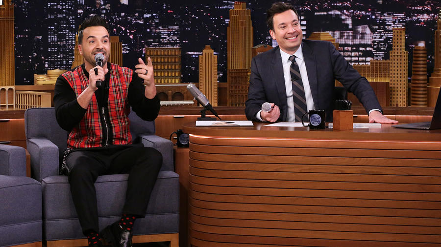 Luis Fonsi on Jimmy Fallon show