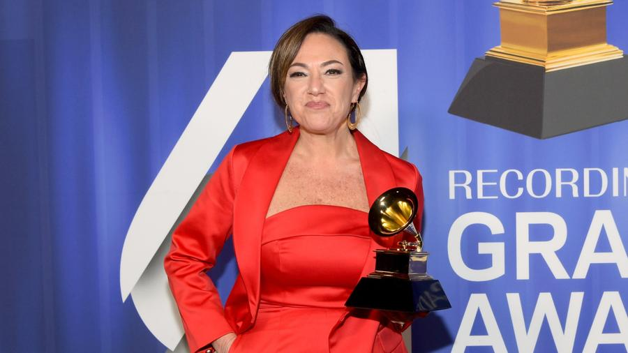 Claudia Brant at 2019 Grammys