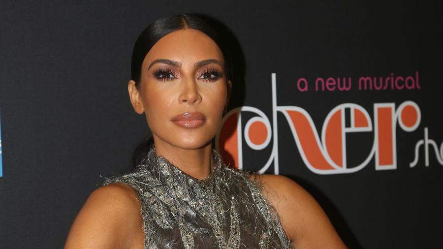 Kim Kardashian Celebrities Visit Broadway - December 3, 2018