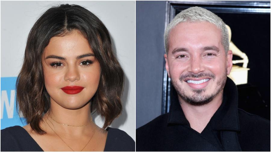 Selena Gomez y J Balvin