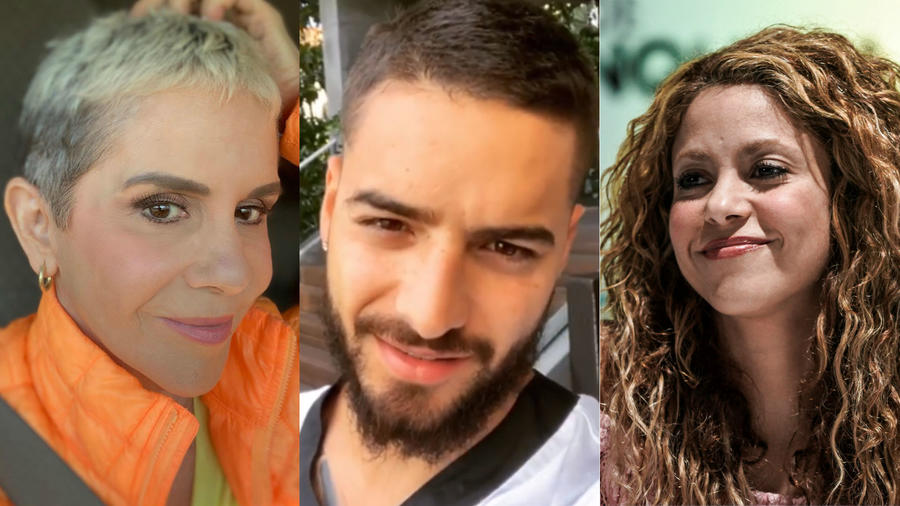 Rebecca Jones, Maluma, Shakira