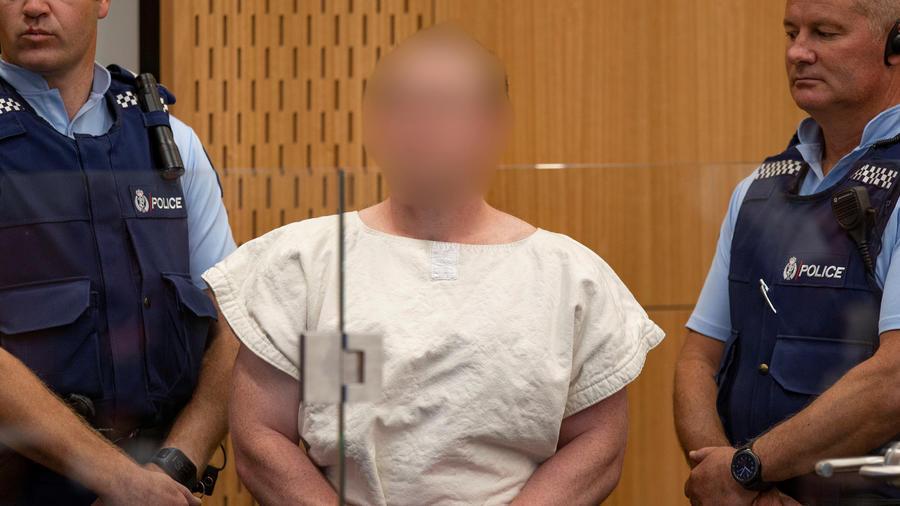 Brenton Tarrant, sospechoso de masacre en Nueva Zelanda, hoy en corte