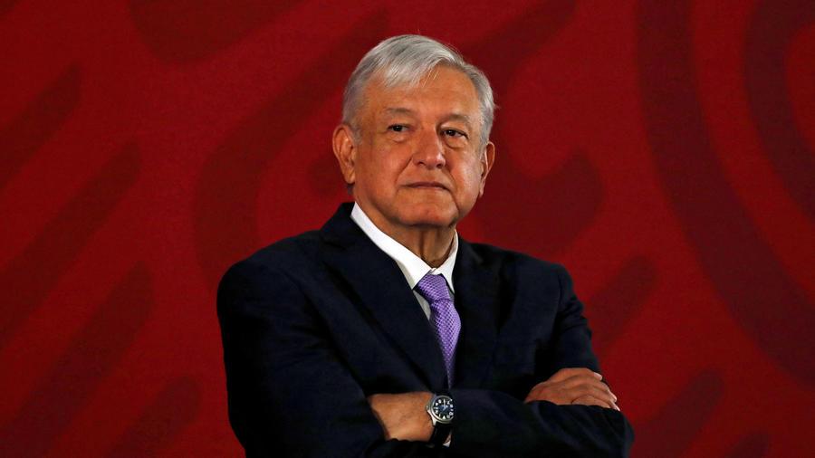 El presidente de México, Andrés Manuel López Obrador, en rueda de prensa matinal del 15 de marzo