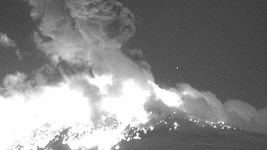 La explosión se ha registrado a las 21:38 horas de este lunes.