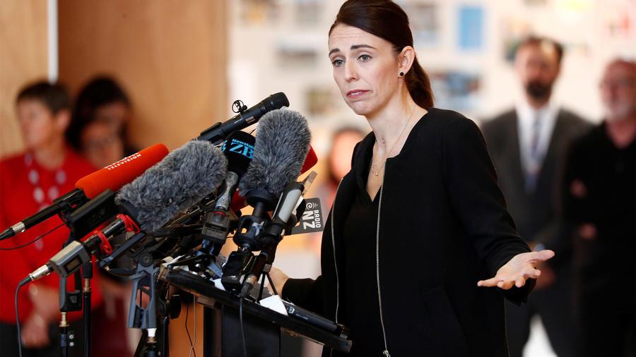 Primera Ministra de Nueva Zelanda, Jacinda Ardern