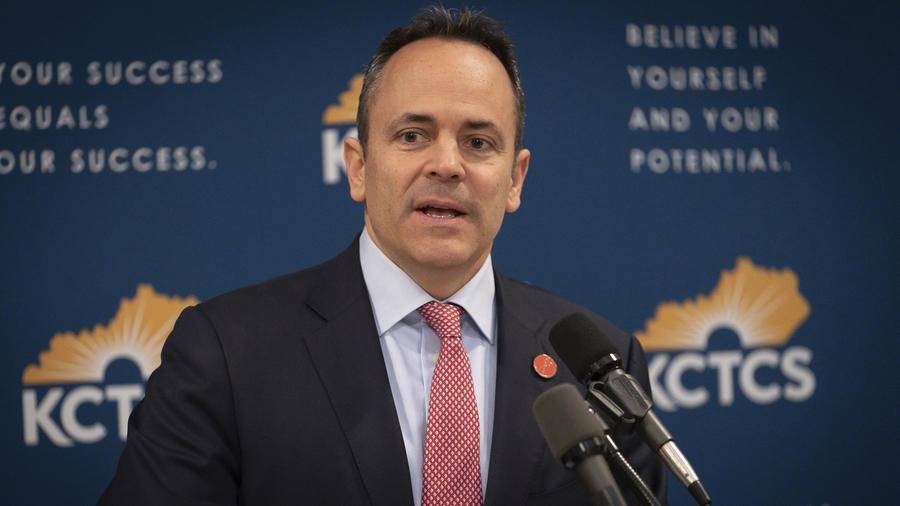 El gobernador de Kentucky, Matt Bevin