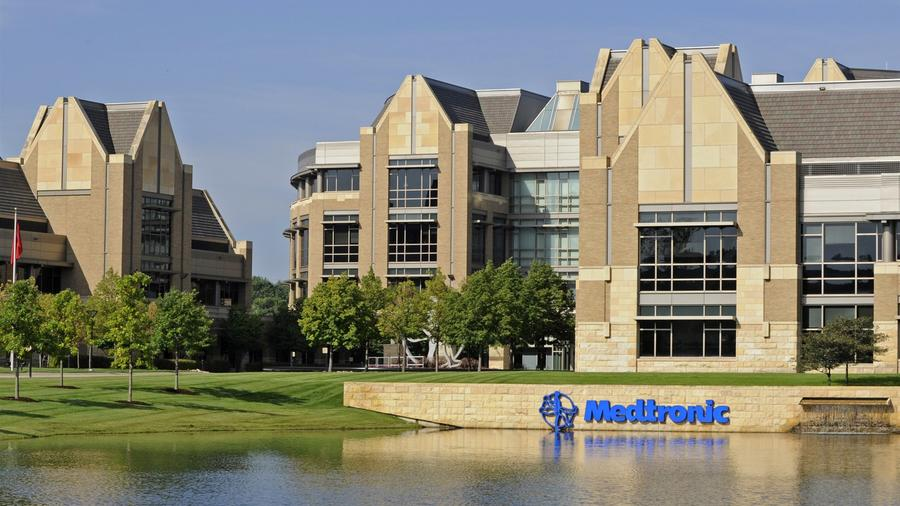 Sede corporativa de Medtronic Inc. en Fridley, Minnesota, en 2010.