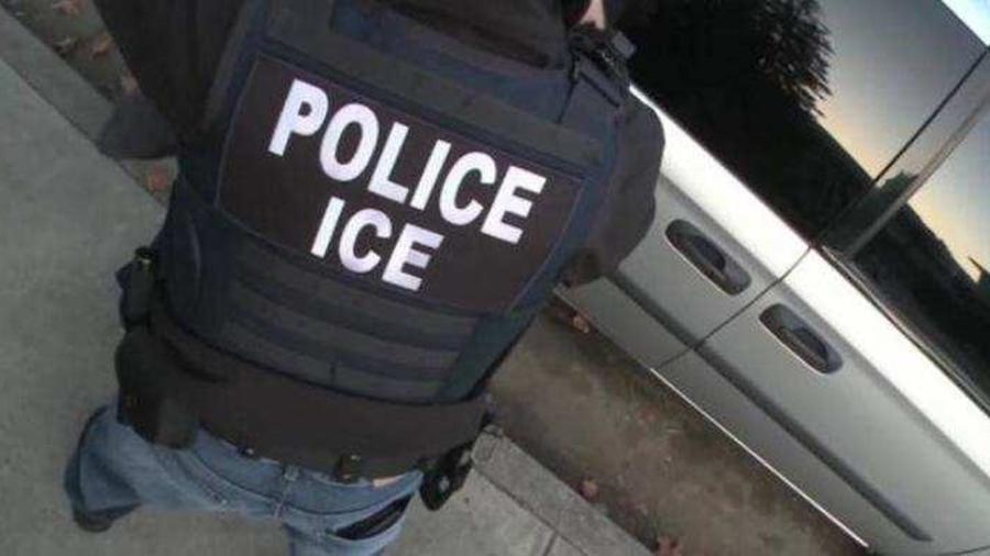 Un agente del Servicio de Inmigración y Aduanas de EE.UU. en una imagen de archivo.