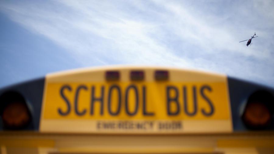 Imagen de archivo de un autobús escolar.