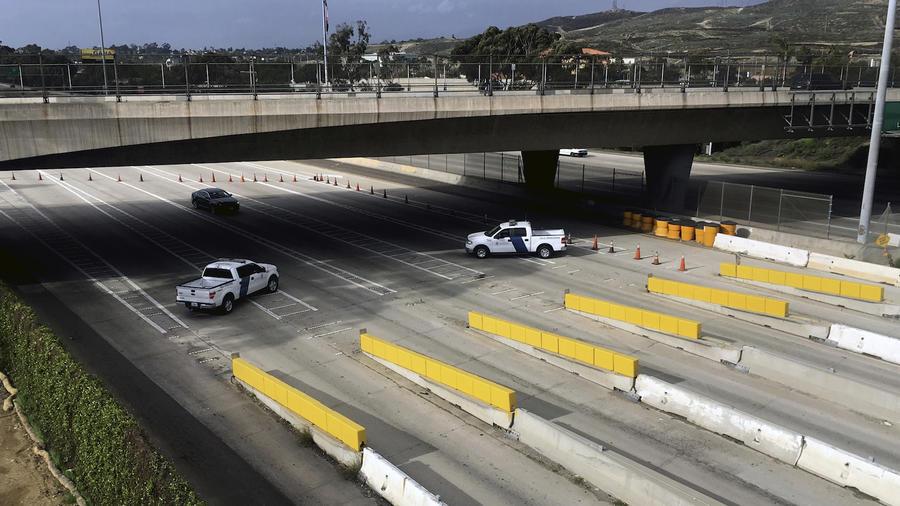 Puerto de entrada de San Ysidro, entre San Diego y Tijuana, en una imagen de archivo de enero de 2017.