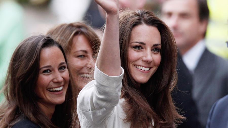 Kate Middleton en la Abadía de Westminster el 28 de abril de 2011