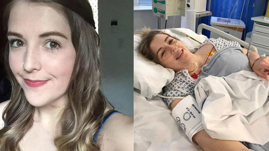 Natalie Kunicki tiene derrame cerebral
