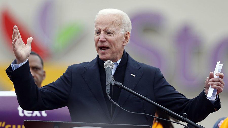 Joe Biden en una imagen de archivo.