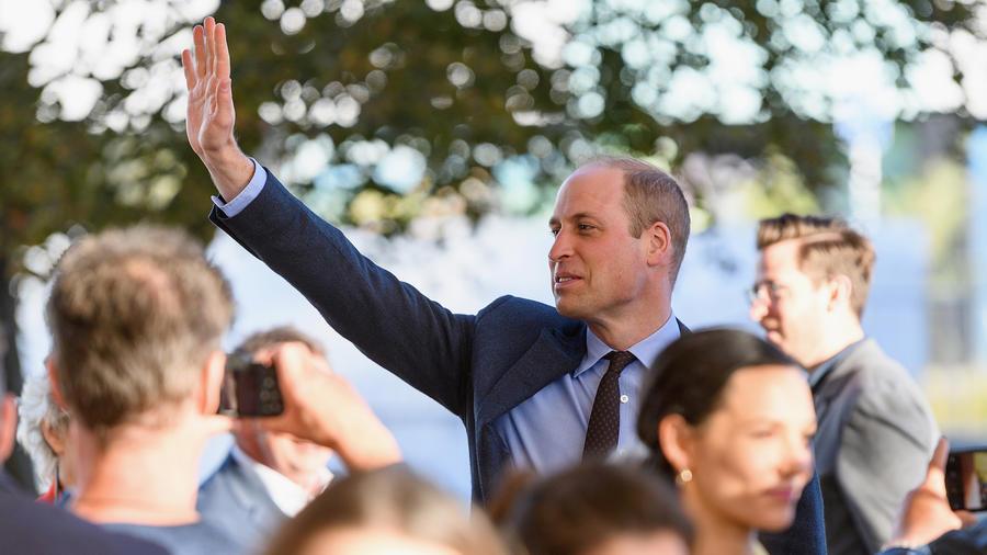 Príncipe William en Nueva Zelanda