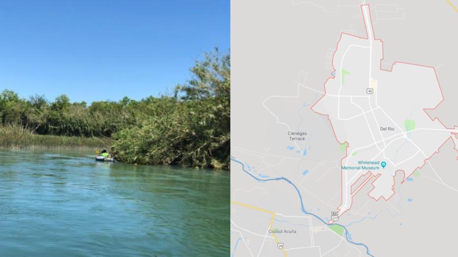 Imagen del rescate de inmigrantes el 25 de abril, y mapa de dónde ha ocurrido el naufragio este miércoles.
