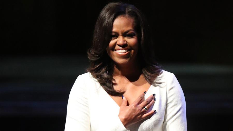 Michelle Obama  en el Royal Festival Hall de Londres