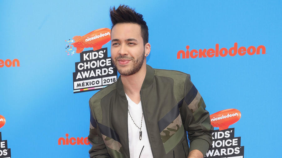 Prince Royce Kids Choice Awards Mexico 2018
