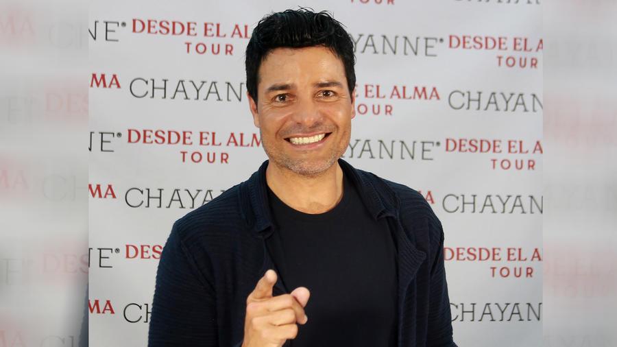 Chayanne en conferencia de prensa en Puerto Rico 2019