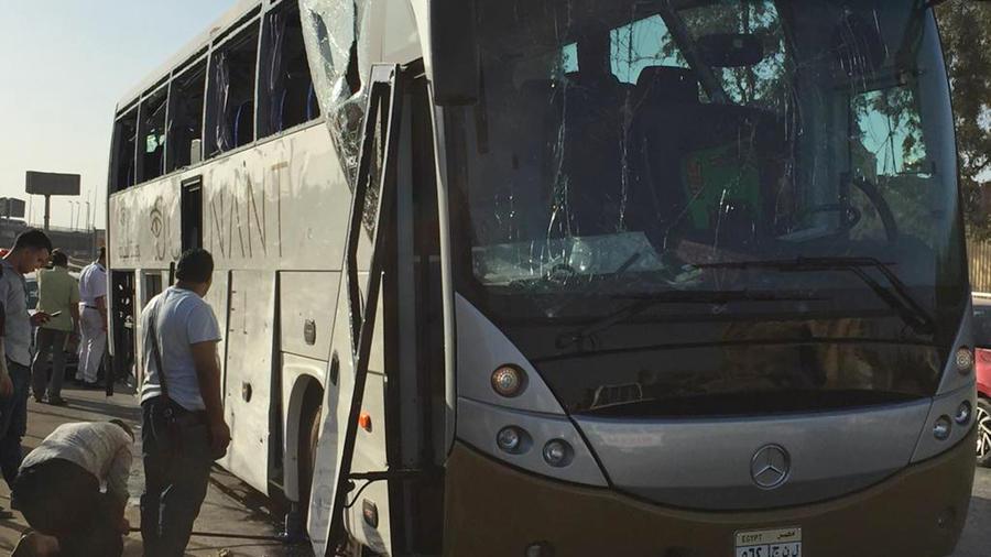 Explosión en autobús en Egipto