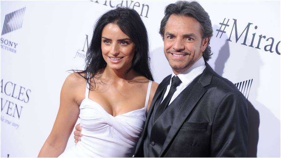 Eugenio Derbez y Aislinn Derbez