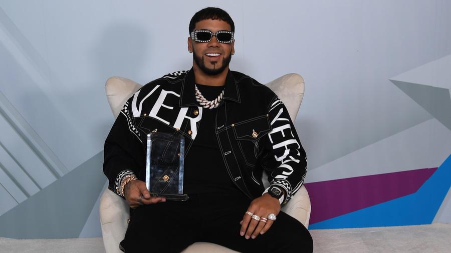 Anuel AA en los Premios Billboard de la Musica Latina