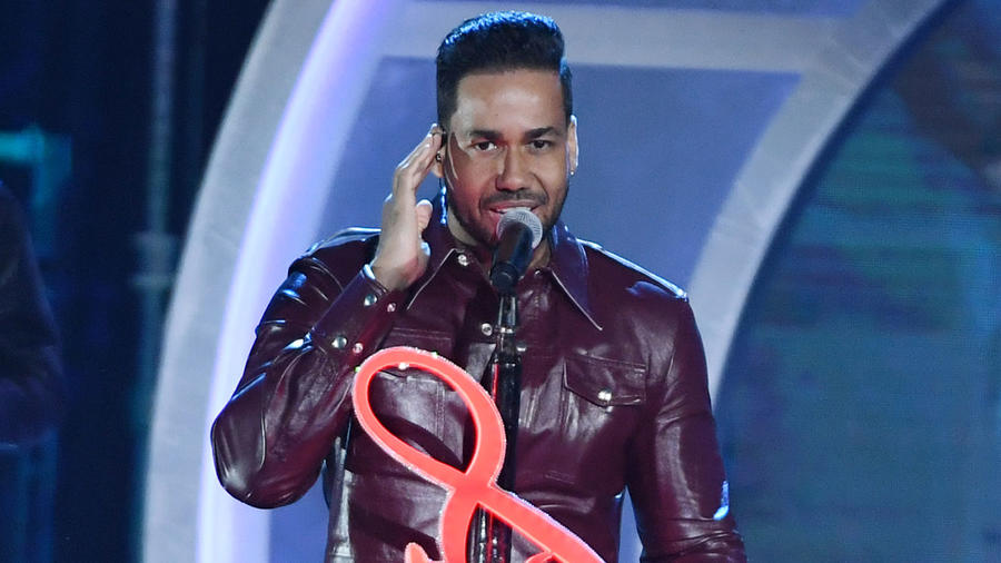 Romeo Santos en los Premios Billboard de Música Latina 2019