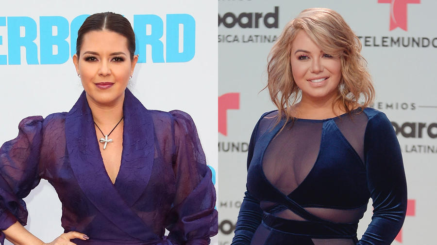 Alicia Machado y Chiquis Rivera