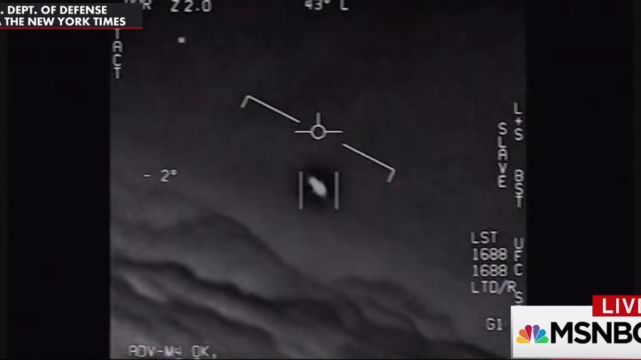 Imagen de un video del Departamento de Defensa publicado por The New York Times y emitido por NBC.