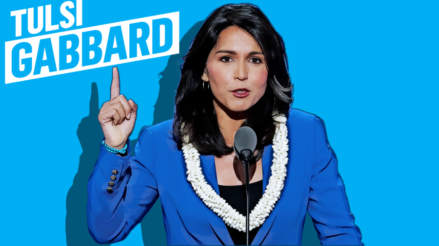 Tulsi Gabbard, candidata demócrata a las presidenciales 2020
