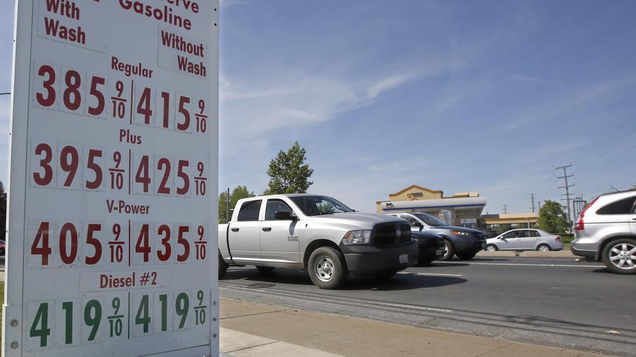 Imagen de archivo de una gasolinera de Sacramento (California).