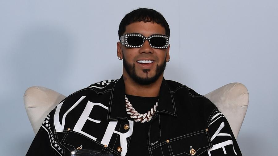 Anuel AA at the 2019 Billboard Latin Music Awards