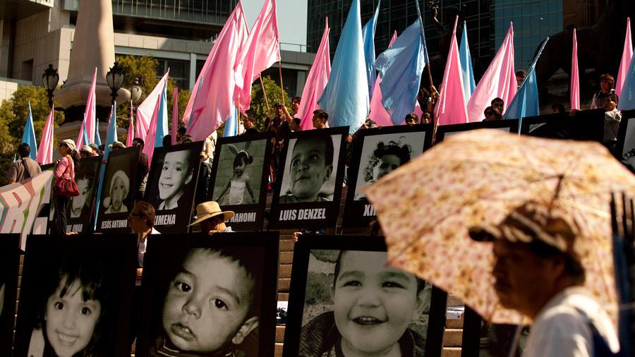 Fotos de algunos de los 49 niños que murieron en guardería ABC en México tras incendio
