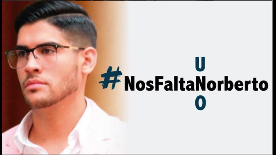 Norberto Ronquillo estudiante secuestrado