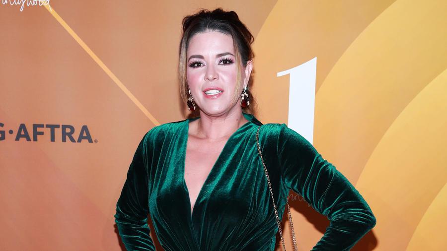 Alicia Machado en un evento para People en español en 2019