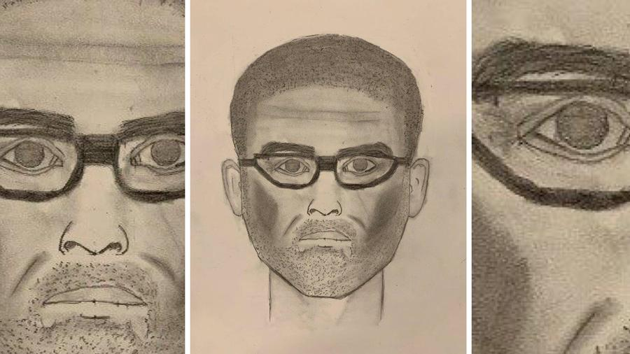 Policía Santa Ana publica boceto de sospechoso de asalto sexual