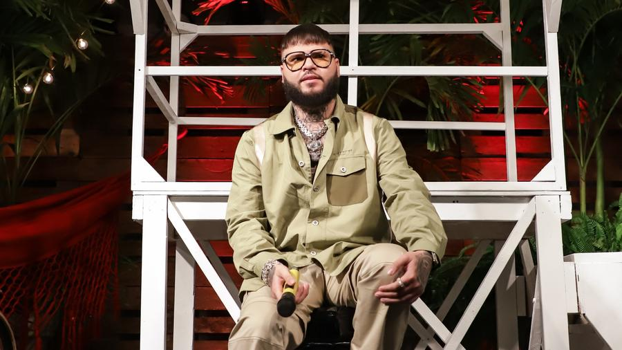 Farruko at his album release party in Miami